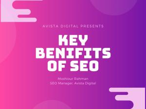 Key benifits of SEO